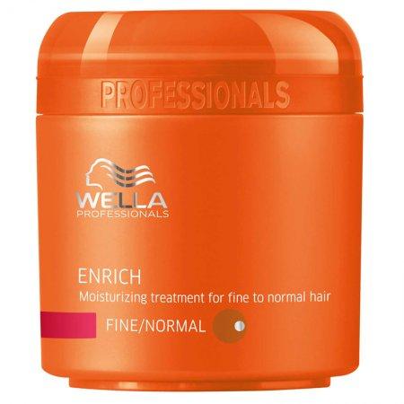 Wella Enrich maska nawilżająca do włosów cienkich i normalnych, 150ml