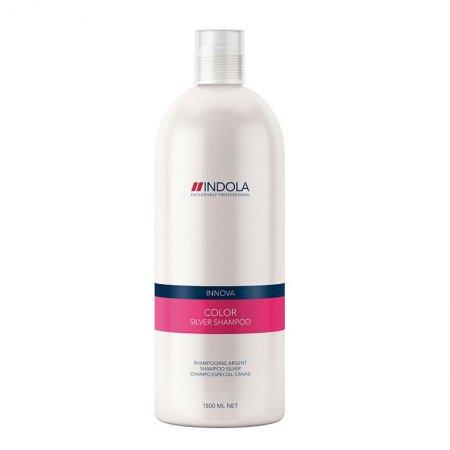 Indola Color Silver, szampon do włosów siwych i blond, 1500ml
