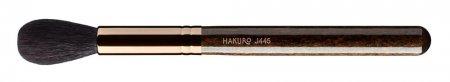 Hakuro J445 pędzel do różu, bronzera lub rozświetlacza, ciemnobrązowy