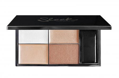 Sleek Makeup Highlighter Palette, paleta rozświetlaczy Precious Metals