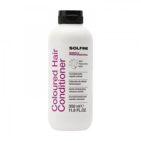 Solfine Care Coloured, odżywka do włosów farbowanych, 350ml