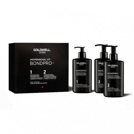 Goldwell Bondpro+, zestaw salonowy, 3x500ml