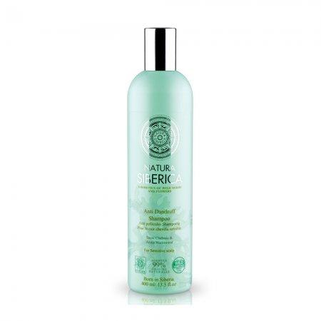 Natura Siberica, szampon przeciwłupieżowy do wrażliwej skóry głowy, 400ml