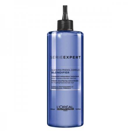 Loreal Blondifier, koncentrat poprawiający wygląd włosów rozjaśnianych, 400ml