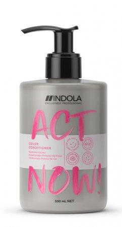 Indola Act Now!, wegańska odżywka do włosów farbowanych, 300ml