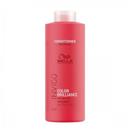 Wella Invigo Color Brilliance, odżywka do włosów farbowanych, normalnych i cienkich, 1000ml