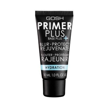 Gosh Primer Plus, baza pod makijaż, wygładzająco-nawilżająca, 30ml