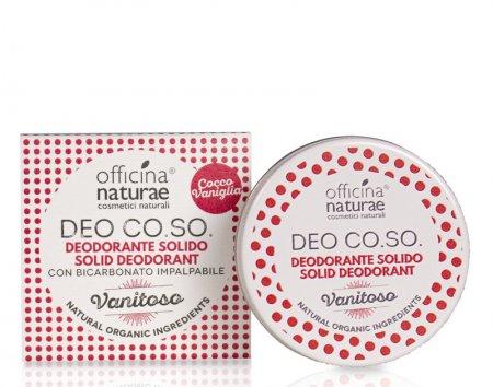 """CO.SO, dezodorant w kremie, zapach wanilii """"Vanitoso"""", 50ml"""