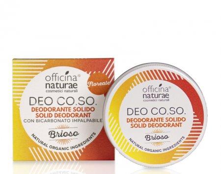 """CO.SO, dezodorant w kremie, zapach kwiatowy """"Brioso"""", 50ml"""