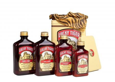 Lucky Tiger, zestaw do pielęgnacji twarzy i golenia