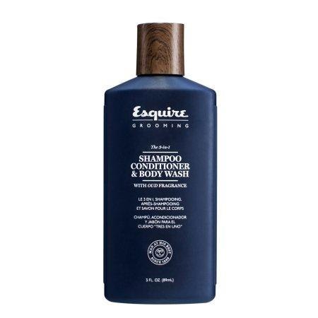 Esquire Grooming, 3w1: szampon, odżywka, żel, 89ml