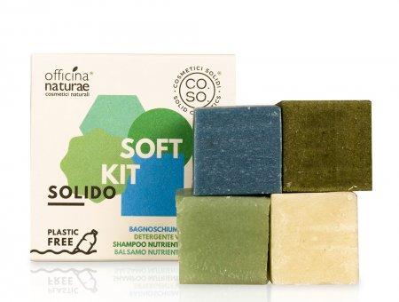 CO.SO, zestaw do łagodnej pielęgnacji włosów i ciała, 4x25g