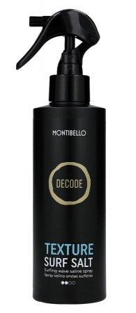 Montibello Decode, spray do stylizacji fal Surf Salt, 200ml
