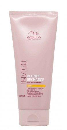 Wella Invigo Recharge, odżywka chroniąca kolor, ciepły blond, 200ml
