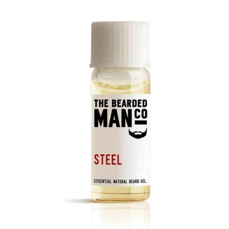 Bearded Man Steel, olejek do brody Stal, 2ml