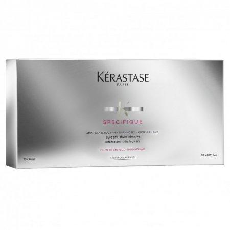 Kerastase Specifique Aminexil, intensywna kuracja przeciw wypadaniu włosów w ampułkach, 10x6ml