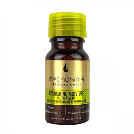 Macadamia Professional Nourishing Moisture, odżywczy olejek przywracający połysk, 10ml