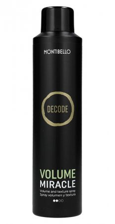 Montibello Decode, spray nadający objętość Volume Miracle, 250ml