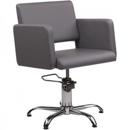 Fotel fryzjerski Ayala Lea, kolor czarny - ze zwrotu