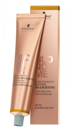 Schwarzkopf BlondMe Hi-Lighting, krem rozjaśniający wzmacniający wiązania, 60ml