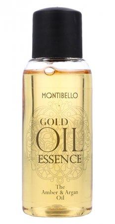Montibello Gold Oil Essence, bursztynowo-arganowy olejek do włosów, 30ml