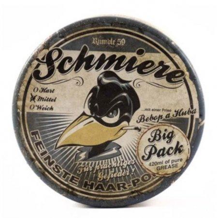 Schmiere Pomade Medium, pomada do włosów XXL, 420ml