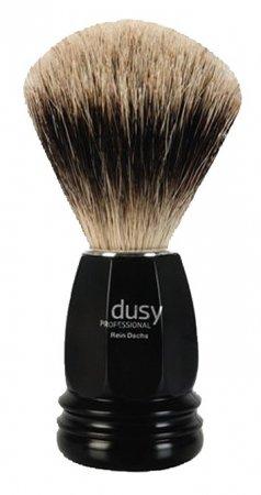 Dusy, pędzel do golenia, z prawdziwym włosiem z borsuka