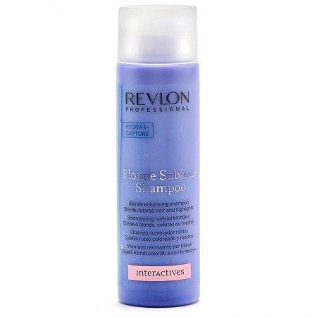 Revlon Interactives Blonde Sublime, szampon do włosów blond i siwych, 250ml
