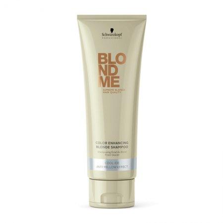Schwarzkopf BlondMe, szampon do włosów w odcieniach zimnego blondu, 250ml