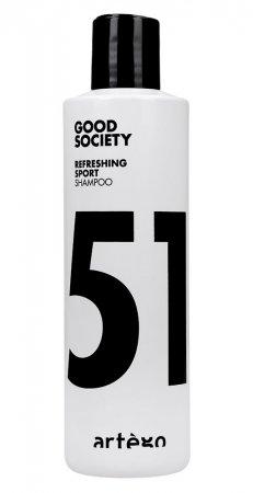 Artego Sport '51, szampon odświeżający, 250ml