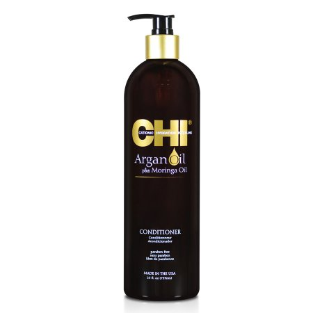 CHI Argan Oil & Moringa, odżywka z olejkami, 739ml