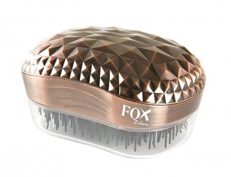 Fox Deluxe, szczotka do włosów, kolor miedziany