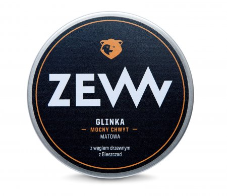 ZEW for Men, glinka do włosów z węglem drzewnym, 100ml