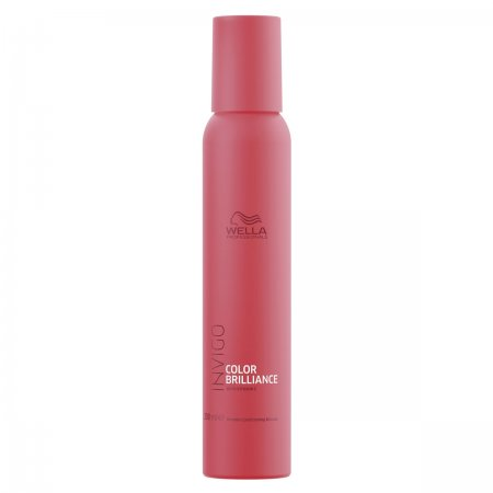 Wella Invigo Color Brilliance, odżywka w piance do włosów farbowanych, 200ml