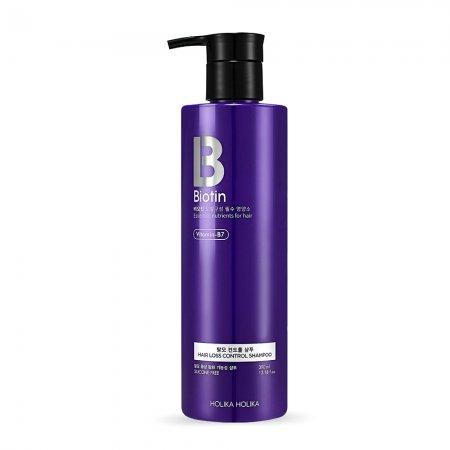 Holika Holika Biotin Hair Loss Control Shampoo, szampon przeciw wypadaniu włosów, 390ml