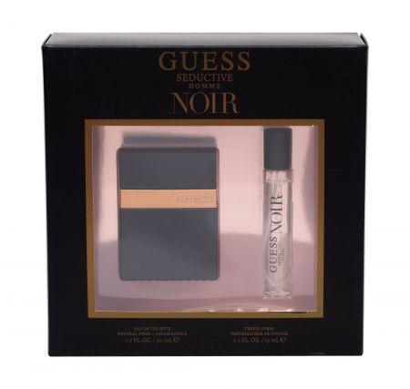 GUESS Seductive Homme Noir, zestaw: Edt 50 ml + Edt 15 ml (M)