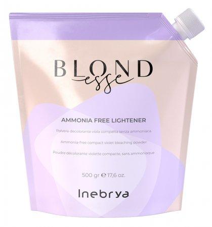 Inebrya Blondesse Amonia Free, rozjaśniacz bez amoniaku, 500g