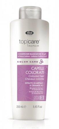 Lisap Top Care Color, odżywka podczas i po koloryzacji, 250ml