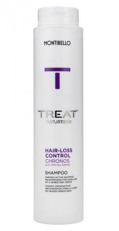 Montibello Treat Naturtech, szampon przeciw wypadaniu włosów Hair-Loss Chronos, 300ml