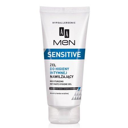 AA Men Sensitive, nawilżający żel do higieny intymnej, 200ml
