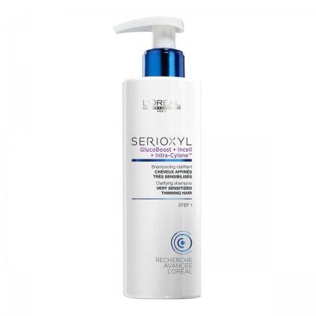 Loreal Serioxyl, krok 1 szampon oczyszczający, do włosów farbowanych, 250ml