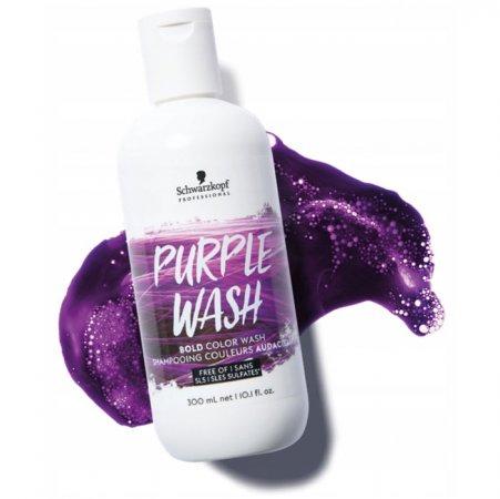 Schwarzkopf Bold Color Wash, szampon koloryzujący, fioletowy, 300ml