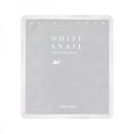 Holika Holika Prime Youth White Snail, maska w płachcie