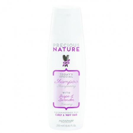 Alfaparf Precious Nature, szampon do włosów kręconych i falowanych, 250ml