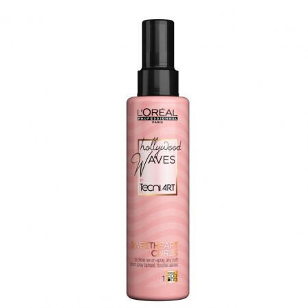 Loreal Tecni Art Hollywood Waves, Sweethart curls, serum w spray-u do lekkich loków, 150ml