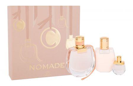 Chloé Nomade, zestaw: EDP 75 ml + EDP 5 ml + Mleczko do ciała 100 ml (W)