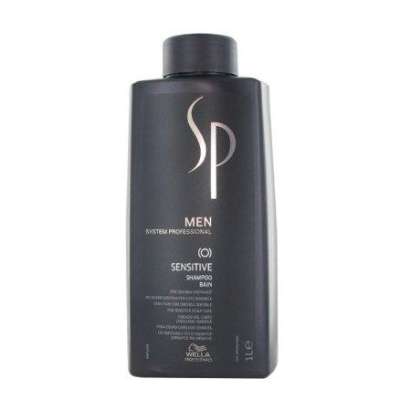 Wella SP Men Sensitive Shampoo, delikatny szampon do wrażliwej skóry głowy dla mężczyzn, 1000ml