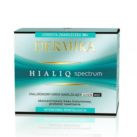Dermika Hialiq Spectrum, krem nawilżający 30+, dzień/noc, 50ml