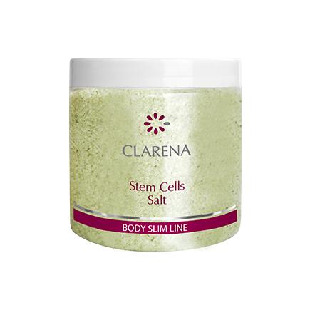 Clarena Stem Cells Salt, sól do peelingu z komórkami macierzystymi, 250ml