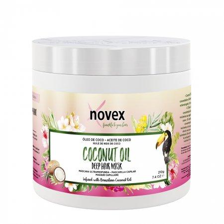 Novex Coconut Oil, maska odżywcza, 210g